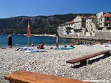 Пляж Комизы Хорватия отдых 2013