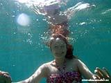Под водой Адриатического моря Хорватия отдых 2013