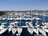 Пристань Марина Фрапа Хорватия отдых 2013