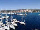 Пристань Марина Фрапа4 Хорватия отдых 2013