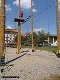 Прыжок с 6 метров 8 метров над землёй
