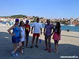 В Трогире на пристане Хорватия отдых 2013