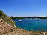 Вид с Крепости Николы Хорватия отдых 2013