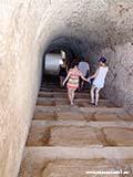 Спуск в Замок Николы Хорватия отдых 2013