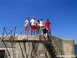 Захват крепости Хорватия отдых 2013