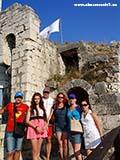 Захват трогирского замка Хорватия отдых 2013
