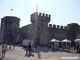 Замок Трогир Хорватия отдых 2013